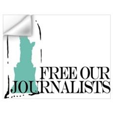 Free Our Journalists Wall Decal