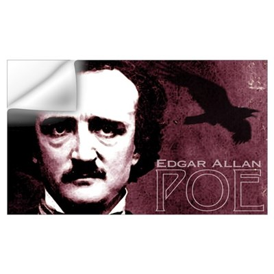 Edgar Allan Poe Wall Decal