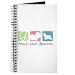 Peace, Love, Beardies Journal