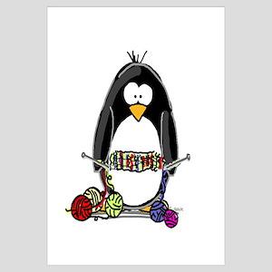 Knitting Penguin