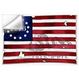 1776 american flag Wall Decals