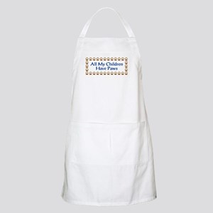 All My Children Have Paws 3 Apron