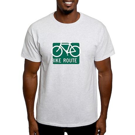 Bike Route-W Light T-Shirt