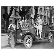 Travel Photographer, 1927 Poster