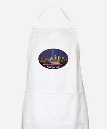 9-11 We Will Never Forget Apron