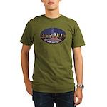 9-11 We Will Never Forget Organic Men's T-Shirt (d