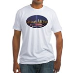 9-11 We Will Never Forget Fitted T-Shirt
