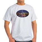 9-11 We Will Never Forget Light T-Shirt