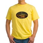 9-11 We Will Never Forget Yellow T-Shirt