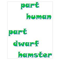 Dwarf Hamster Poster