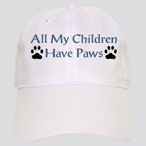 All My Children Have Paws 4 Cap