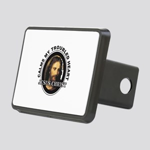 JC calms my troubled heart Rectangular Hitch Cover