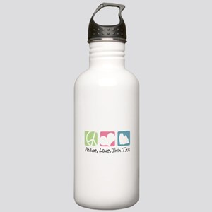 Peace, Love, Shih Tzus Stainless Water Bottle 1.0L