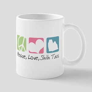 Peace, Love, Shih Tzus Mug