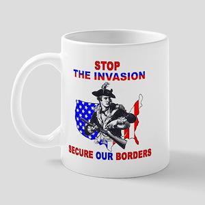 Stop The Invasion  Mug