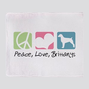 Peace, Love, Brittanys Throw Blanket
