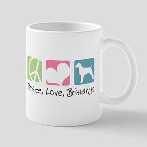 Peace, Love, Brittanys Mug