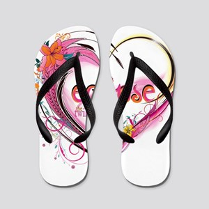 Twilight Eclipse Heart Flip Flops