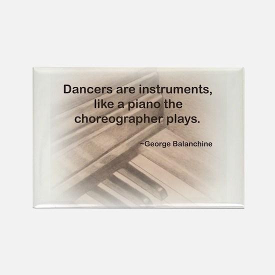 Balanchine Rectangle Magnet (10 pack)