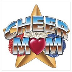 Cheer Mom Poster