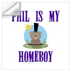Homeboy Groundhog Day Wall Decal