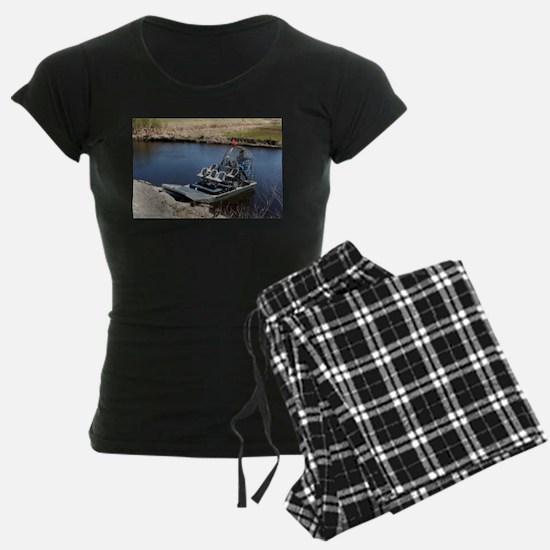 Florida swamp airboat 2 Pajamas