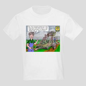"Harlan-""The Trebuchet"" Kids Light T-Shir"