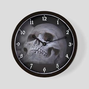 Spooky Skull Wall Clock