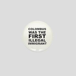 Columbus Mini Button
