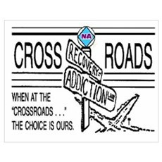N A CROSSROADS Poster