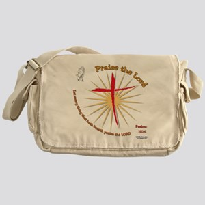 Praise the Lord Messenger Bag