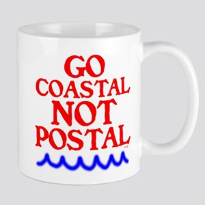 GO COASTAL-NOT POSTAL™ Mug