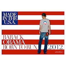 Obama: Born to RUN! Poster