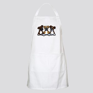 Three Boxer Lover Apron