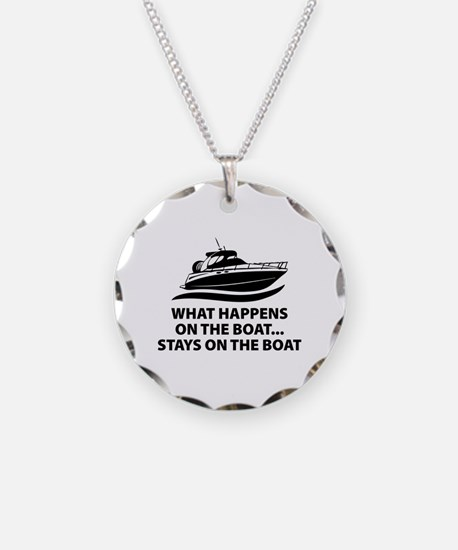 What Happens On The Boat Necklace