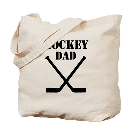 Hockey Dad Tote Bag