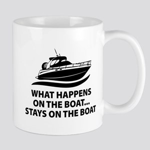 What Happens On The Boat Mug