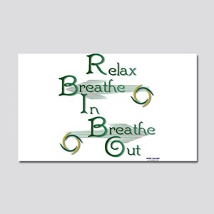Relax Car Magnet 20 x 12