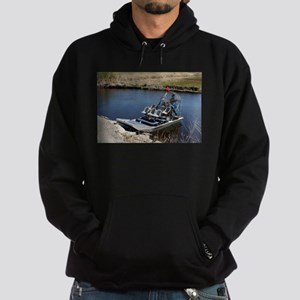 Florida swamp airboat 2 Sweatshirt
