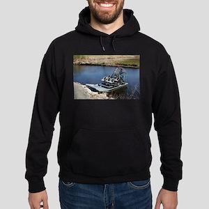 Florida swamp airboat 2 Sweatshirt