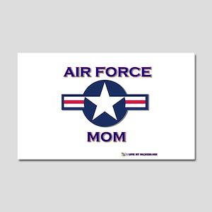 air force mom Car Magnet 20 x 12