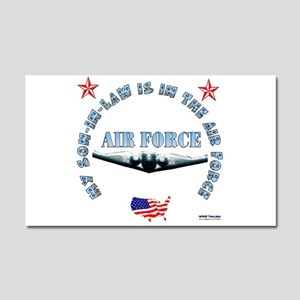 Air Force Son-in-Law Car Magnet 20 x 12