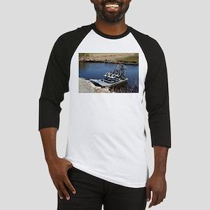 Florida swamp airboat 2 Baseball Jersey