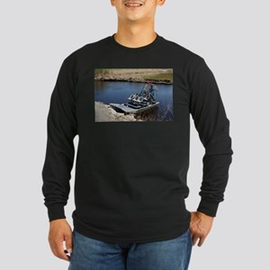 Florida swamp airboat 2 Long Sleeve T-Shirt