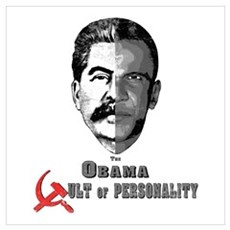 Obama Cult of Personality Poster