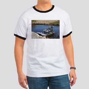 Florida swamp airboat 2 T-Shirt