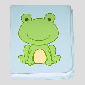 Laguna Frog baby blanket