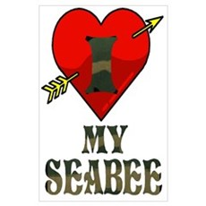 I LOVE MY SEABEE Poster