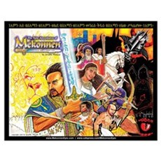 Mekonnen Epic Book Cover-- (16x20) Poster