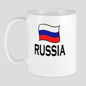 Russia Flag Mug